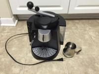 I'm selling an espresso maker (and milk