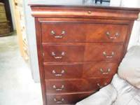 Large used cherry chest in great condition. Come in and