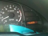 1999 Chevy Cavalier with only 46805 miles on it. The