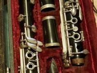 Used Clarinet. Needs Pads, I know. Has sat, unused for