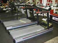 3 LifeFitness 9100HR Treadmills. $600 each,