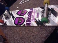 Its A Krooked Large Board with independent Trucks,