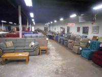 Furniture Warehouse offers the area's largest selection