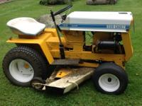 USED CUB CADET TRACTOR   ASKING $800 or BEST OFFER