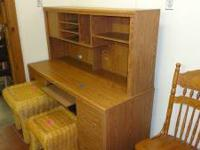 Used desk for 145.00 Sharon's Furniture 3400 central