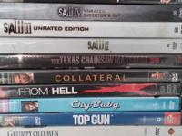 I have some used dvd's, all in great condition.  Most