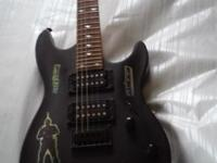 Hi, this is a used electric guitar for sale AS IS by