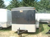 WE HAVE 1 MORE USED ENCLOSED TRAILERS WE WANT TO SELL