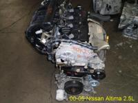Used engine for Nissan Altima 2.5 L engine - $1450 (L.