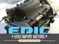Used low mileage + High quality automotive engines,