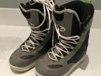 Used Female Snowboard Boots Size 5 Only used less than