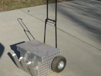 aluminum fishing cart good condition  // //]]>