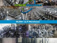 We have many thousands of used fitness equipment