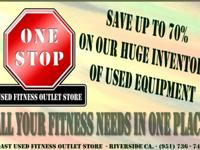 "Used Fitness & Gym Equipment For Sale ""Used Fitness"