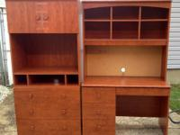 Young Adult's Matching Dresser/ARmoire with 3 drawers,