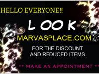 FIND IT HERE - http://www.marvasplace.com/ QUALITY AT