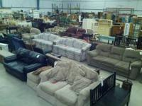 Received a great truckload of used furniture in