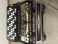 Used 9 Switch Gabbanelli Chromatic Accordion for sale