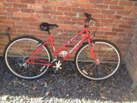 Used Giant Nutra Hybrid bicycle has been tuned up and