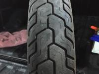 I have a Used 60-70% tread rear motorcycle tire off an
