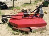 Used, Howse 6 foot rotary cutter ( brush hog type)