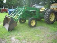 Used John Deere 2020 w/ 520 Loader 4-in-1 Bucket 60 HP