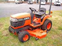 Used Kubota BX2200 with 60' mid-mower. clean condition.