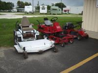 I have several Riding type lawn mowers available for