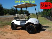 We have several used golf carts that have been ran