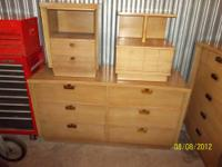 dresser with table ends on top in good used condition