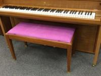 This beautiful upright Steinway (383786) is a