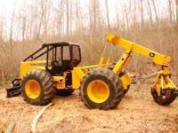Used Log Skidder For Sale. 1981 JD-640 in great working