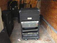 USED MARS CADENCE MUSIC EQUIPMENT CASE,  THE INSTALLED