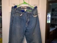 used men's jeans for sale size 38X36 they have some