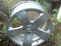 "This is for the pictured Mercedes Benz 17"" rim, which"