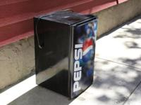 Made use of Pepsi branded refrigerator, great for