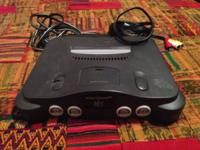 This initial N64 still works and it features a