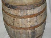 Full Whiskey Barrels Used whiskey barrels are crafted