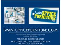 WE SELL BOTH PRE-OWNED AND NEW OFFICE FURNITURE