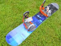 I have a Burton Custom 155 wide Snowboard that is