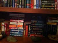 Approximately 270 paperback books, mostly crime/murder