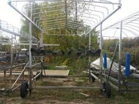 We have a very nice used pontoon lift for sale, this is