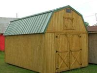 Pre=Owned Portable Buildings all sizes and styles. New