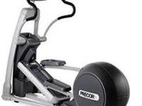 Used Precor EFX 546 Version 1, 2, 3 and Experience