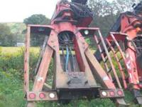 2001 Prentice 120E with extendaboom, pump, tank and