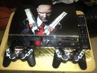 Used Ps3 with 2 controllers , a remote control and 16