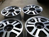 set of 2006 mustang gt rims for sale, they are very