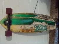 I have a sweet used sector 9 long board up for grabs!