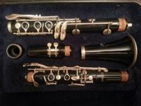 Used Selmer 1401 clarinet and case.  Good condition.