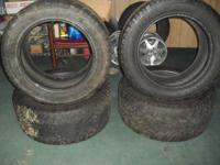 USED SET OF FOUR TIRES COOPER ZEON LTZ  305/50 R20 M&S